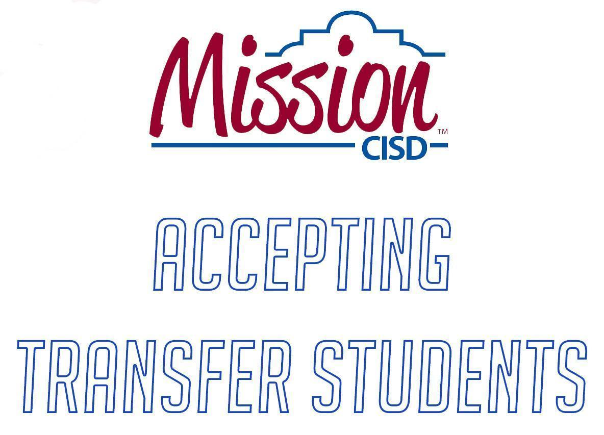 Now Accepting Transfer Students