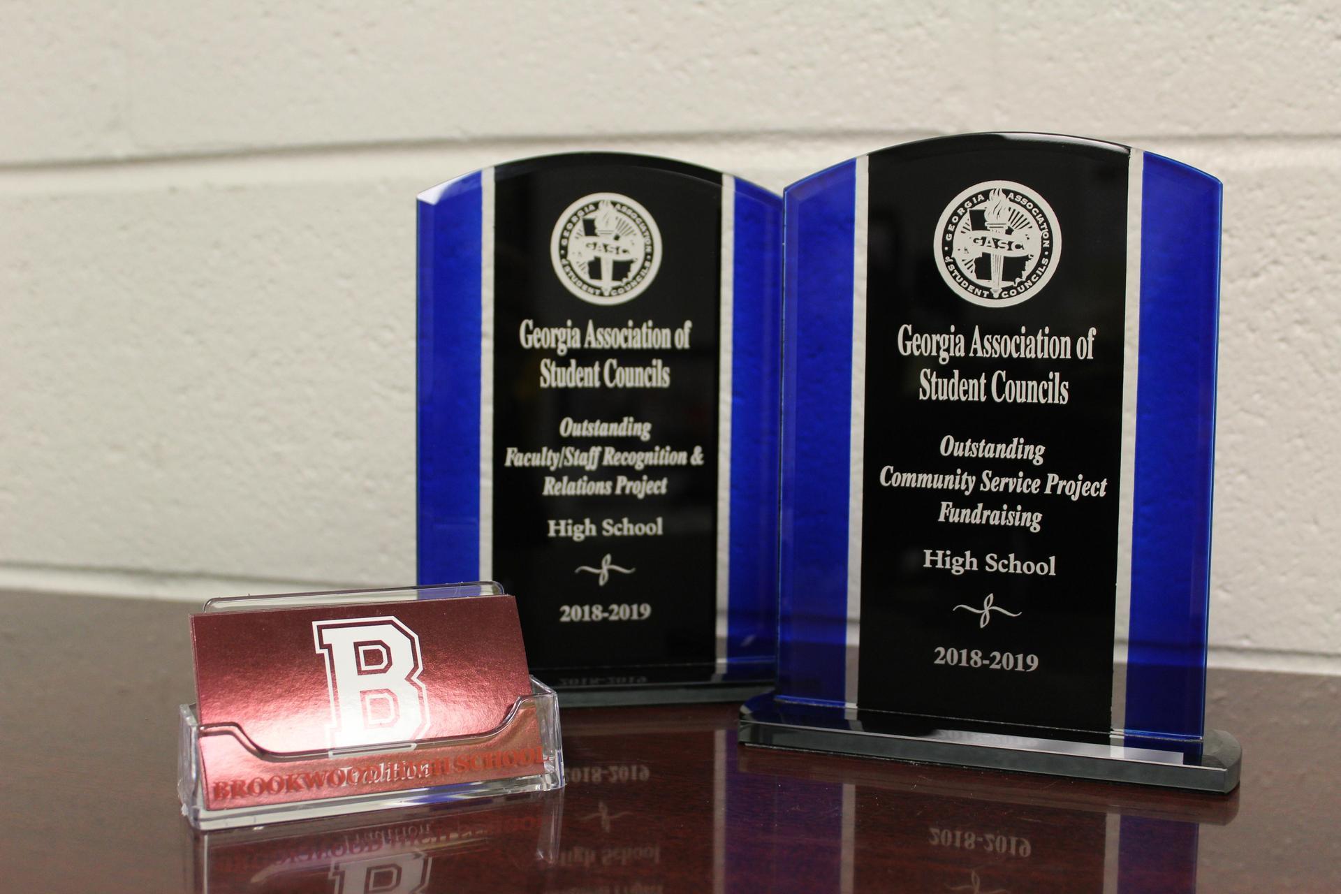 2018-19 SGA Awards