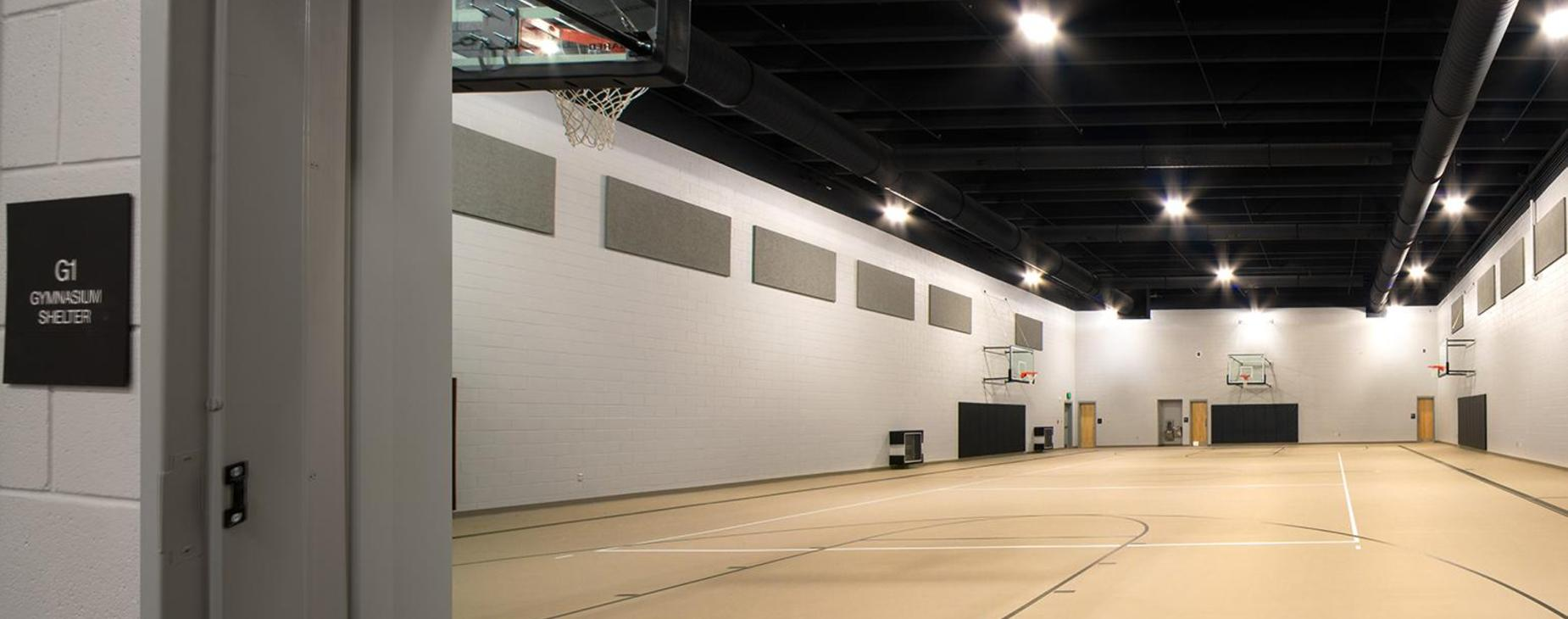 Storm Shelter/Practice Gym