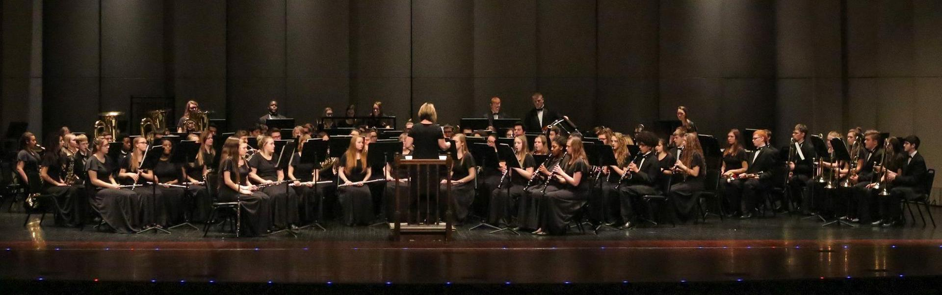 CHS Concert Band at Band Festival 2018