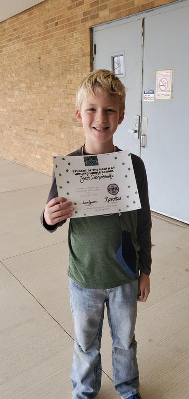 5th grade Jacob Deffenbaugh
