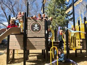 pirate park students