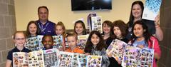 Liberty Elementary's yearbook this year will be seen through the lens of its students. Students in the school's Yearbook Club developed the yearbook from start to finish as part of a WSISD Education Foundation Innovative Teaching Grant.