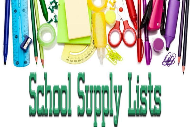 School Supply Lists