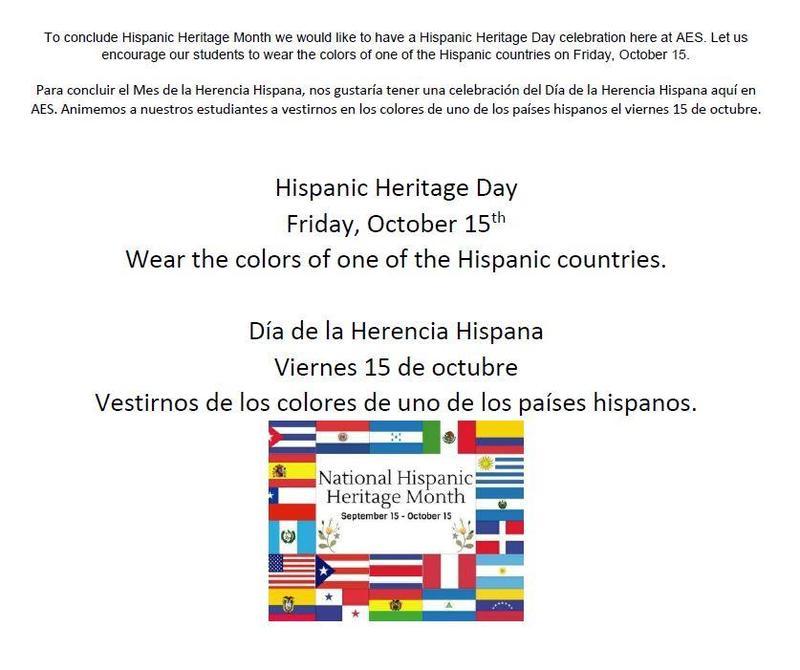 Dress up for Hispanic Heritage Month