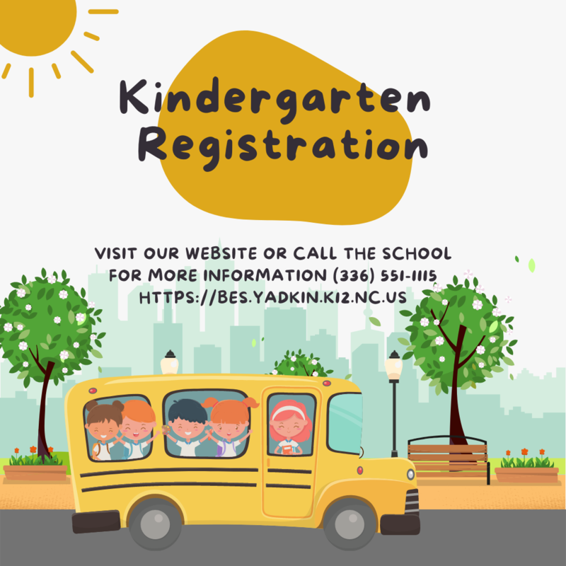 Kindergarten Registration Happening Now Thumbnail Image
