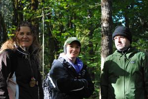 Outdoor school teachers and chaperones