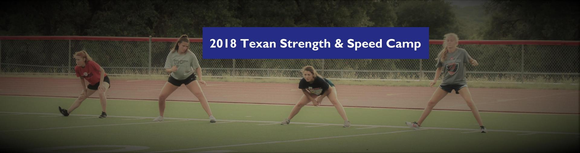 2018 Strength & Speed Camp