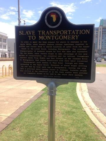 GOA staff visiting historical sites in Alabama.