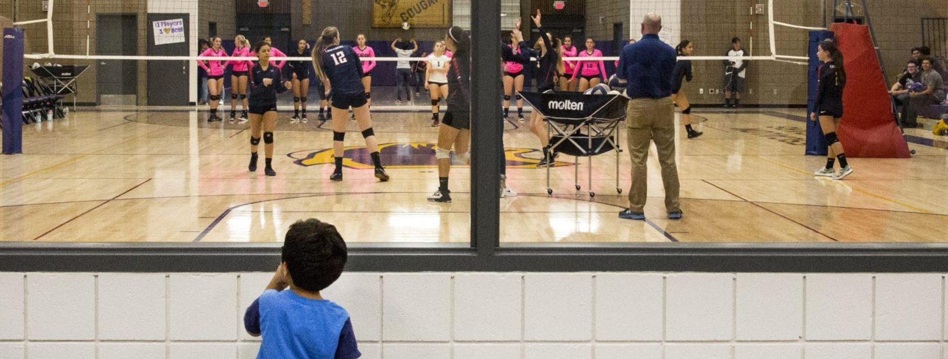 student volleyball