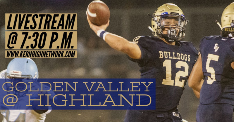 LIVESTREAM FOOTBALL GAME: GOLDEN VALLEY AT HIGHLAND Thumbnail Image