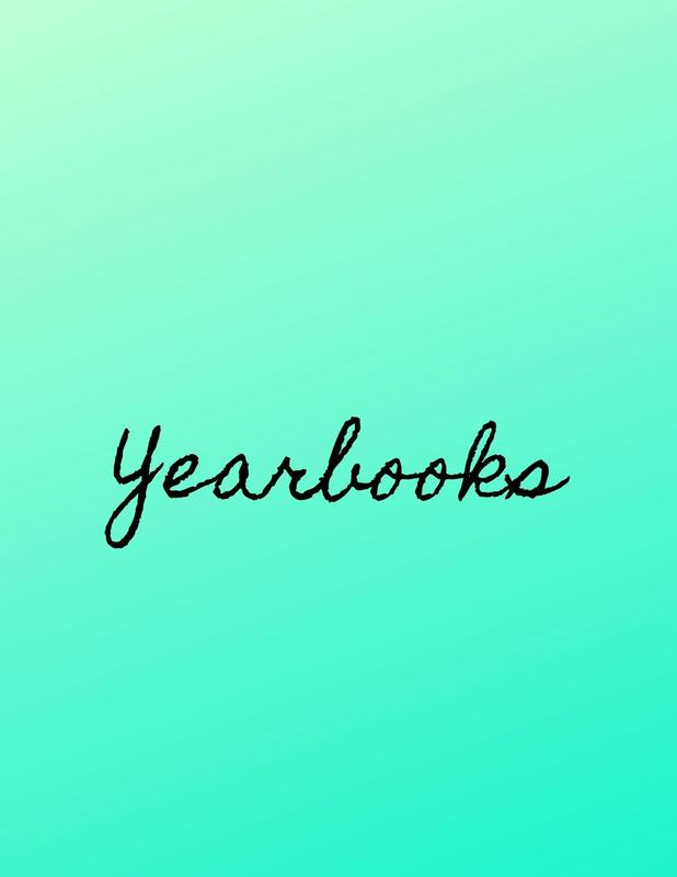The word yearbooks