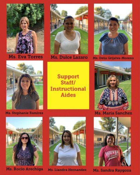 Support Staff and Instructional Aides