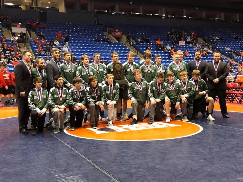 State Third Place Wrestlers