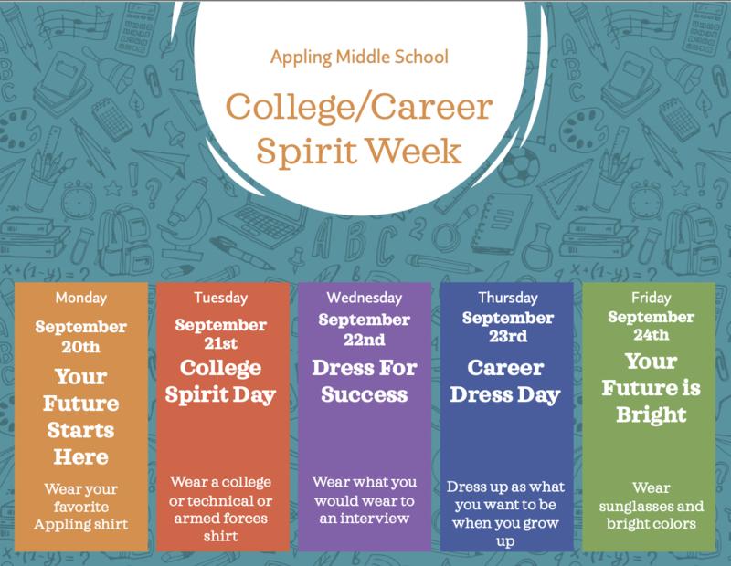 College/Career Spirit Week Featured Photo