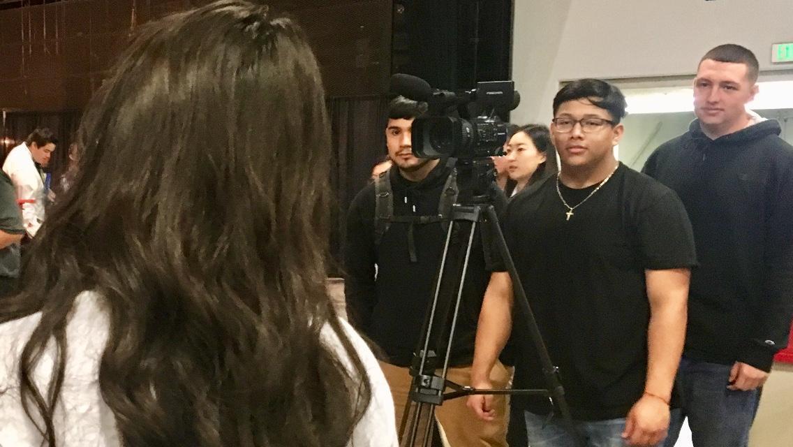 Virtual Enterprise filming teams!