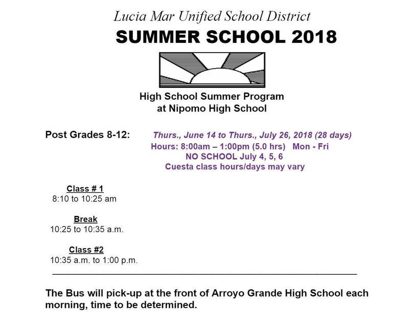 2018 Summer School