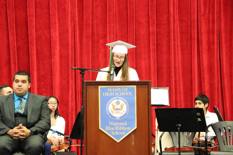 Maspeth High School Student Body President Thanks Fellow Classmates Featured Photo