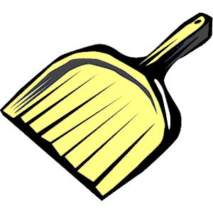 golden dustpan