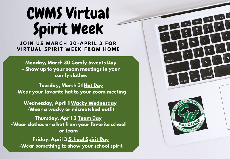 CWMS VIRTUAL SPIRIT WEEK Thumbnail Image