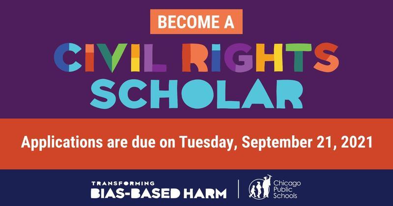 Approaching Deadline – 2021-2022 Civil Rights Scholars Program / Acercándose a la fecha límite – Programa Académico de Derechos Civiles 2021-2022 Featured Photo