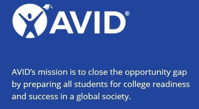 AVID Logo & Mission