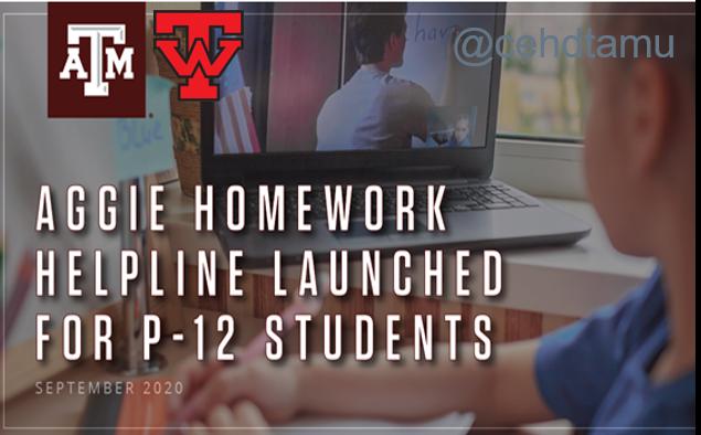 Texas A&M University Creates Online Homework Helpline Featured Photo