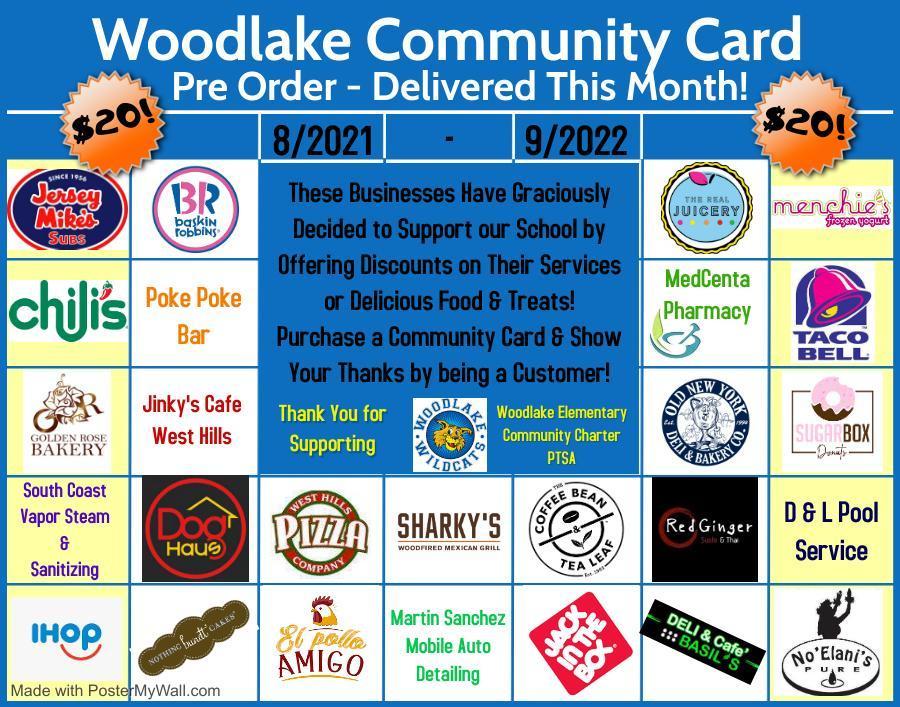 Community Discount Card Visual
