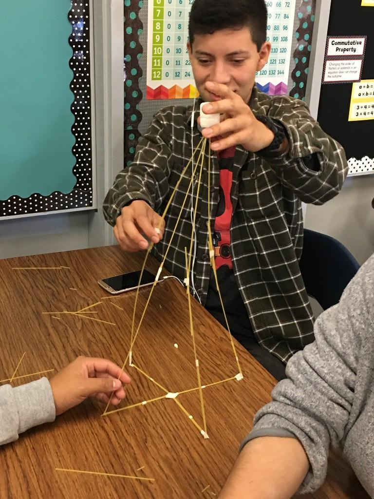 building with spaghetti isn't easy