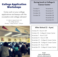 College App Workshops Thumbnail Picture