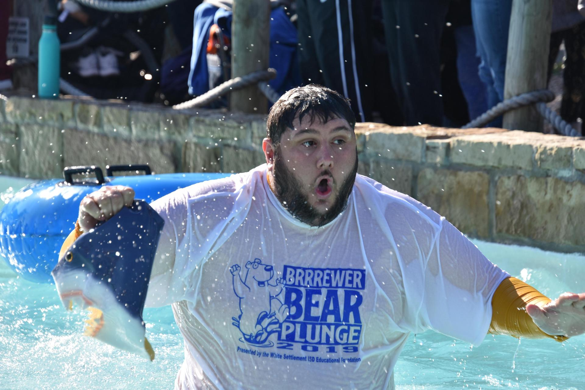 The Foundation raised more than $8,000 during the BRRRewer Bear Plunge.