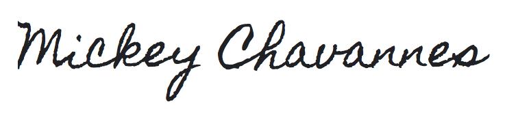 mickey signature
