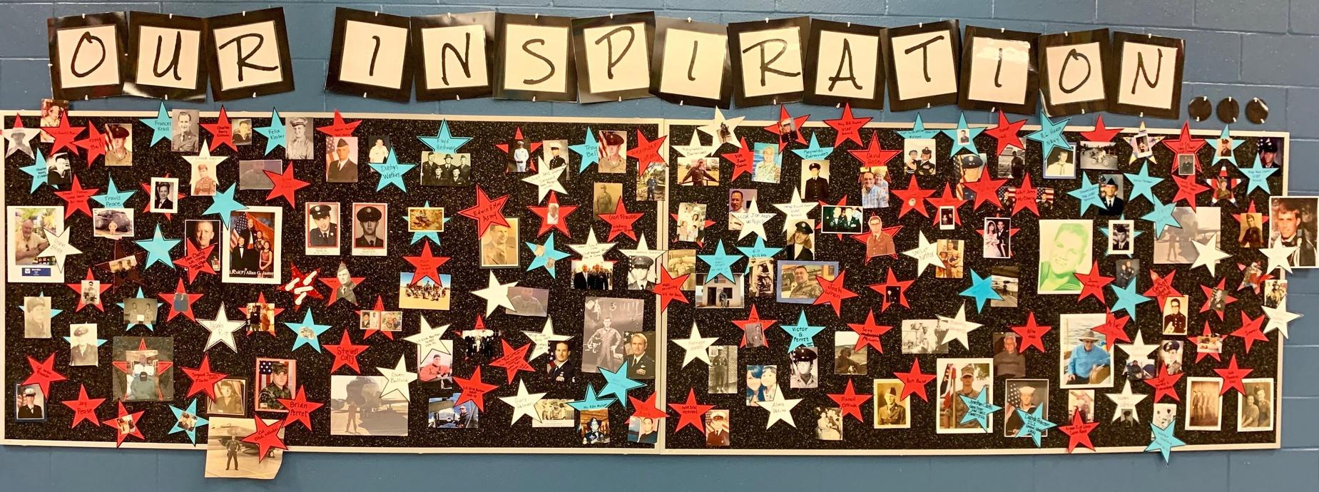 Veterans Day Wall 2019