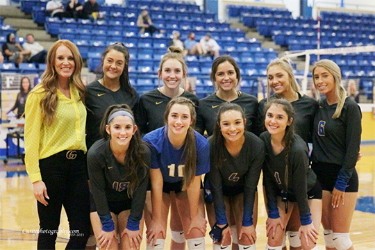 Volleyball District Champs