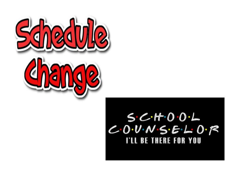 2020-2021 Class Schedule Information and Counselors Email Address Thumbnail Image