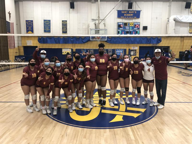 Girls Volleyball - League Champs! Thumbnail Image
