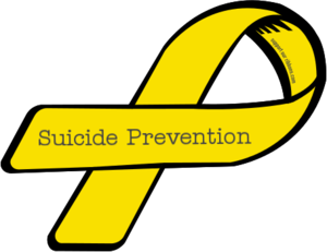 Yellow Ribbon for Suicide Prevention Week
