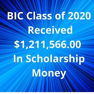 BIC Class of 2020 Received $1,211,566.00 In Scholarship Money.jpg