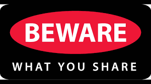 Beware of what you share