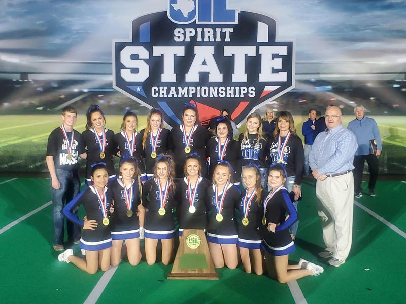 Leon Cheer Squad wins back to back State Championships Featured Photo