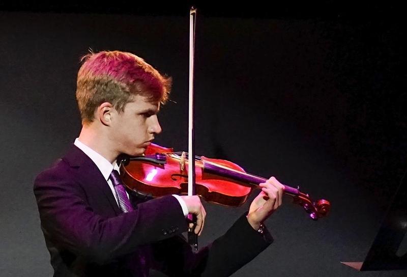 Landon Rheuark Performing at Classical Night 2020