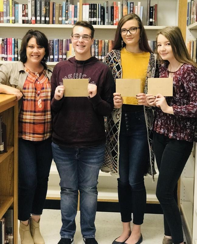 Literary contest winners