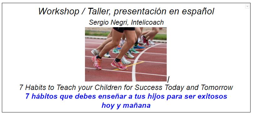 Parent Workshop/Taller para padres