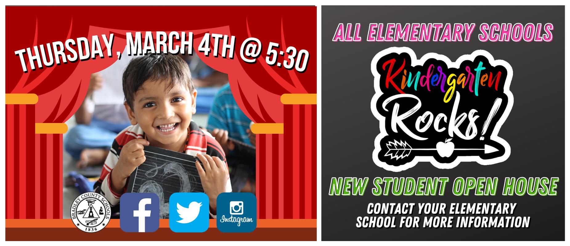 Kindergarten Rocks - March 4, 2021