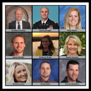 Nine new administrators