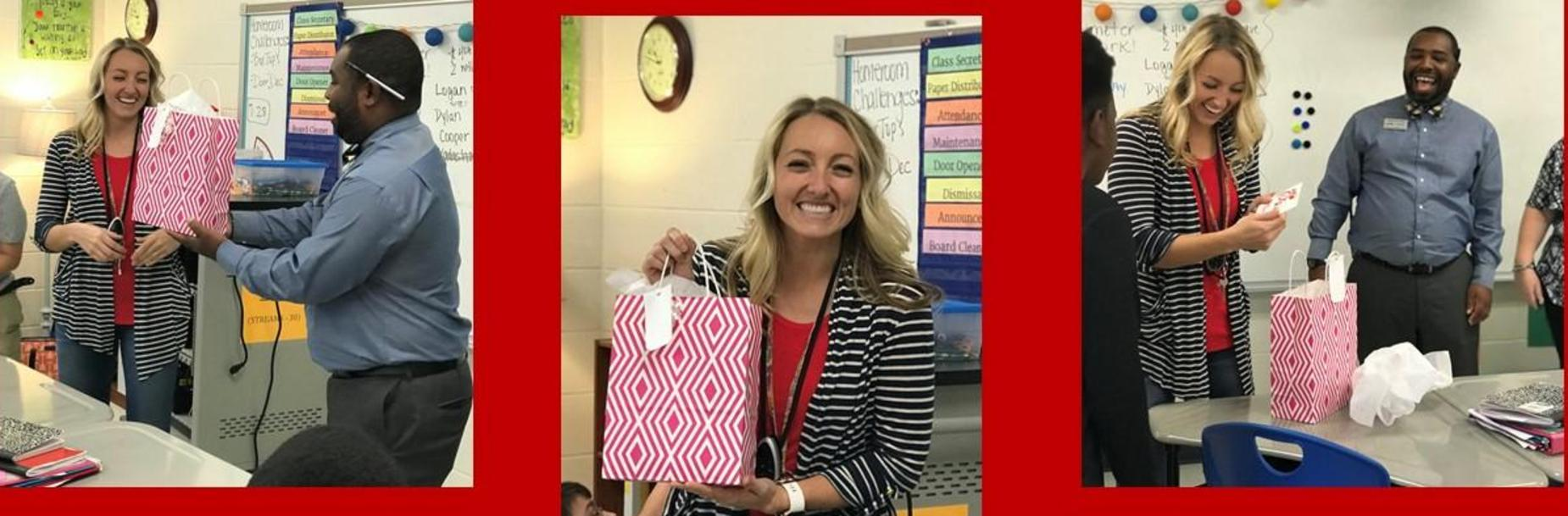 GTMS Teacher of the Year