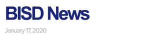 BISD News 1/17/20