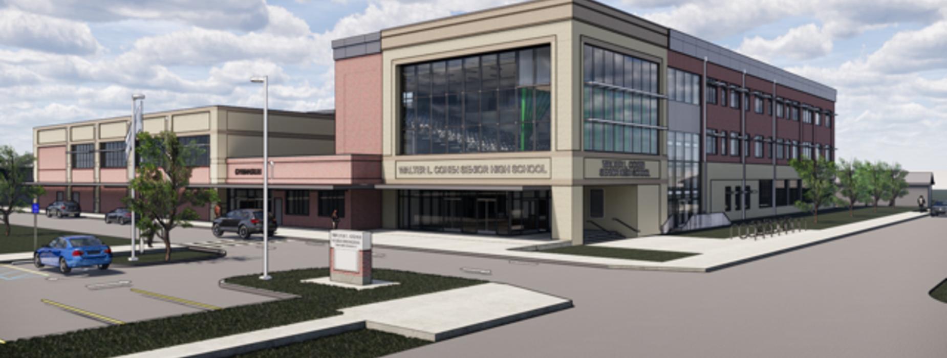 Renderings of new Cohen campus