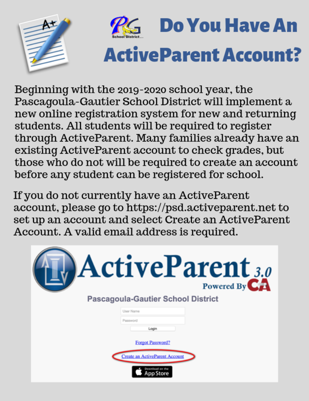 ActiveParent Account