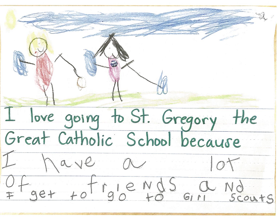 Kindergarten Thoughts On Catholic School Featured Photo